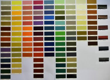 Available RAL colors - Amsterdam Bicycle Company