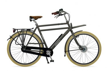 Azor Ameland Gents Granite Grey Matte 0 Amsterdam Bicycle Company