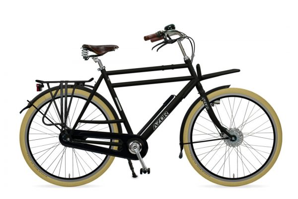 Azor Ameland Gents Matte Black - Amsterdam Bicycle Company