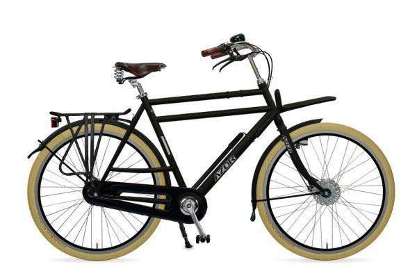 Azor Ameland Gents Matte Black - Amsterdam Bicycle Company