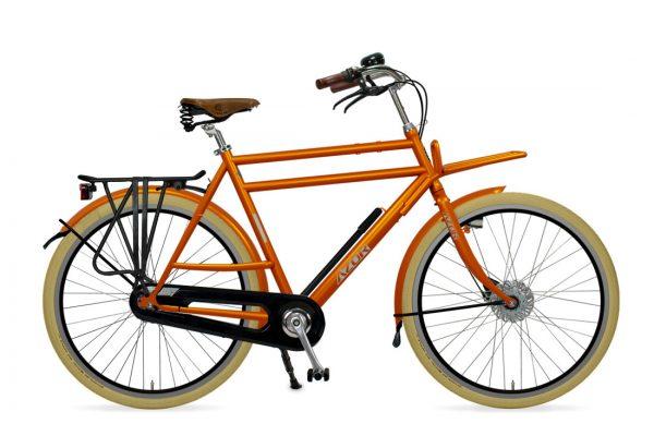 Azor Ameland Gents Sunset Orange Gloss - Amsterdam Bicycle Company