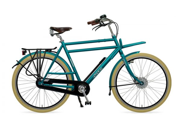 Azor Ameland Gents Turquoise Green Gloss - Amsterdam Bicycle Company
