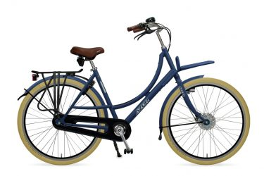 Azor Ameland Ladies Denim Blue Matte - Amsterdam Bicycle Company