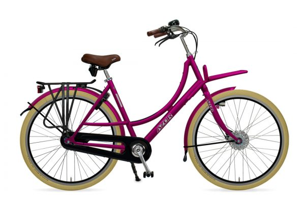 Azor Ameland Ladies Lollipop Violet Gloss - Amsterdam Bicycle Company