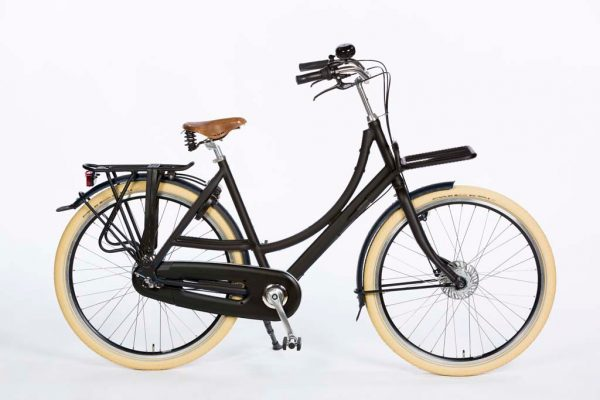 Azor Ameland Ladies Granite Grey Matte - Dutch Premium Bicycle