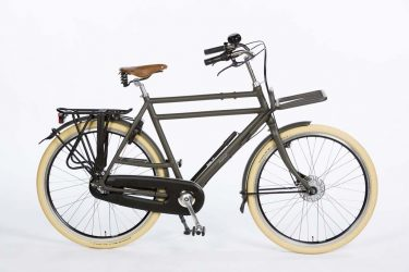 Azor Ameland Gents Granite Grey Matte - Premium Dutch Bicycle - Amsterdam Bicycle Company