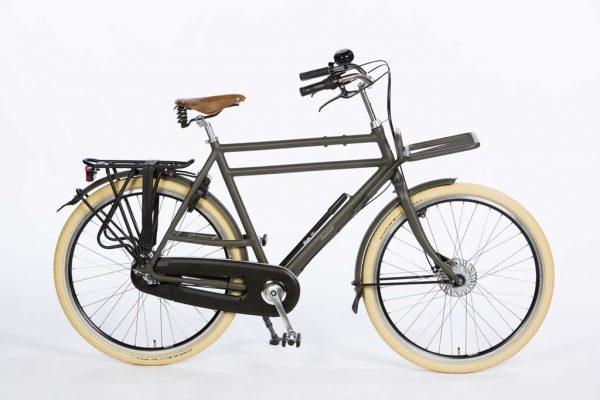 Azor Ameland Gents Granite Grey Matte - Premium Dutch Bicycle - Amsterdam Bicycle Company