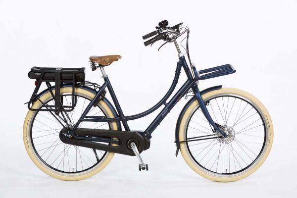 Azor Ameland E-bike Shimano Steps Ladies Denim Blue Matte - Premium Dutch E-bike