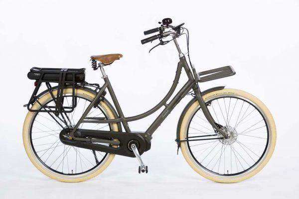 Azor Ameland Ladies E-bike Shimano Steps Granite Grey Matte - Dutch Premium E-bike