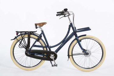 Azor Ameland Ladies Denim Blue Matte - Premium Dutch Bicycle