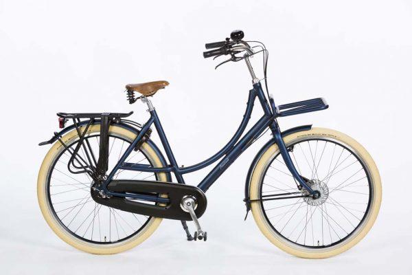 Azor Ameland Ladies Denim Blue Matte - Premium Dutch Bicycle