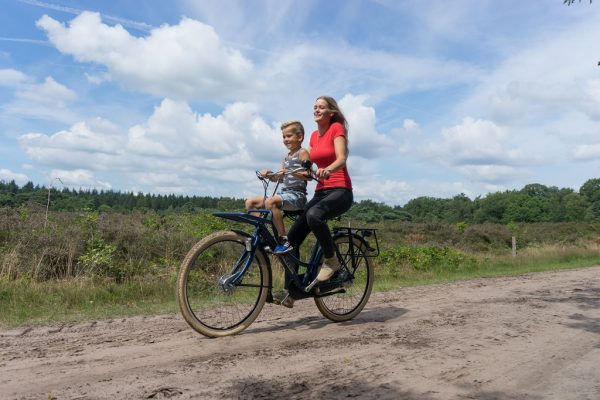 Azor Ameland with Front Child Seat - Amsterdam Bicycle Company