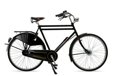 Azor Amsterdam Gents High Gloss Black - Amsterdam Bicycle Company