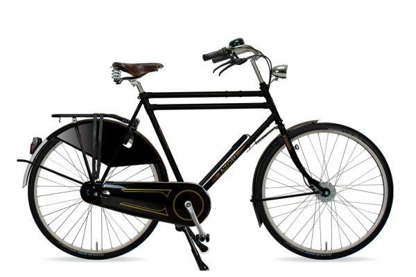 Azor Amsterdam Gents High Gloss Black - Amsterdam Bicycle Company