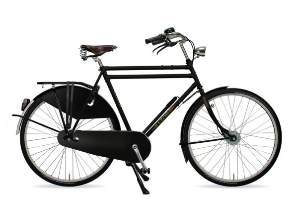 Azor Amsterdam Gents Matte Black - Amsterdam Bicycle Company