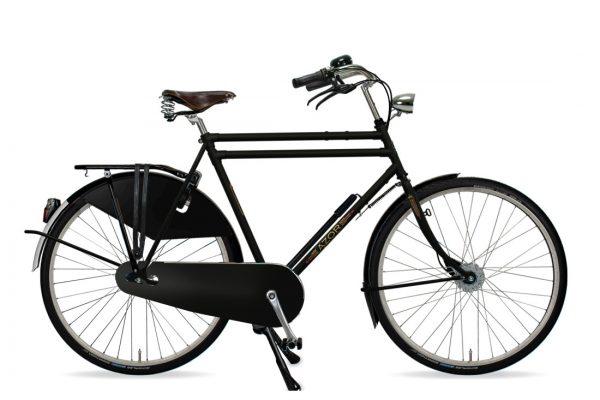Azor Amsterdam Gents Matte Black - Amsterdam Bicycle Company