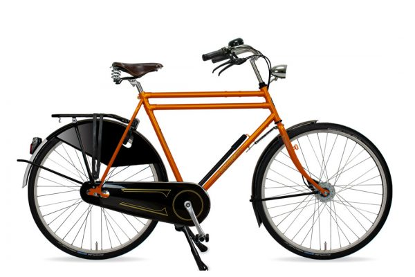 Azor Amsterdam Gents Sunset Orange Gloss - Amsterdam Bicycle Company