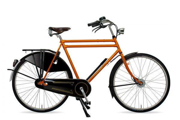 Azor Amsterdam Gents Sunset Orange Gloss - Amsterdam Bicycle Company