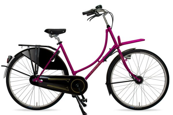 Azor Amsterdam Ladies Lollipop Violet Gloss 2021 - Amsterdam Bicycle Company