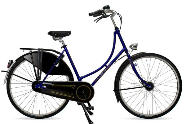 Azor Amsterdam Ladies Night Blue Metallic Gloss 2021 - Amsterdam Bicycle Company