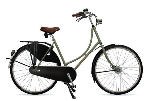 Azor Amsterdam Ladies Olive Green Matte - Amsterdam Bicycle Company