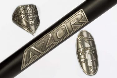 Azor Brushed Metal Transfers - Amsterdam Bicycle Company