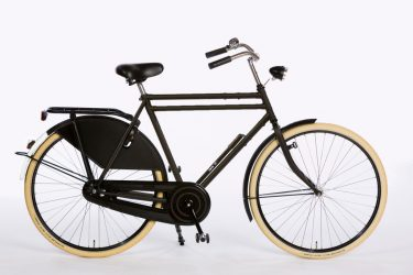Azor Carolina Gents Black Matte - Classic Dutch Bicycle