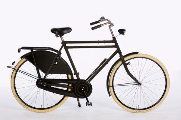 Azor Carolina Gents Black Matte - Classic Dutch Bicycle
