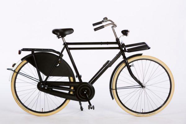 Azor Carolina Gents High Gloss Black - Classic Dutch Bicycle