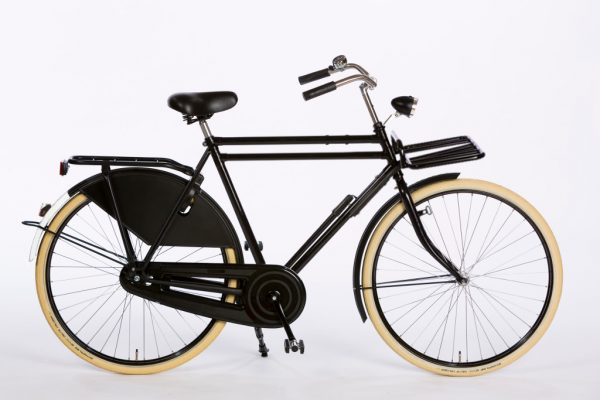 Azor Carolina Gents High Gloss Black - Classic Dutch Bicycle
