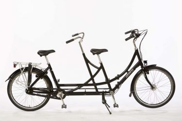 Azor Folding Tandem 26 inch Wheels - Amsterdam Bicycle Company