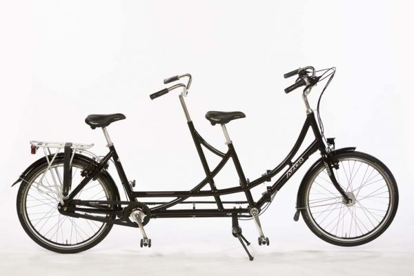 Azor Folding Tandem 26 inch Wheels - Amsterdam Bicycle Company