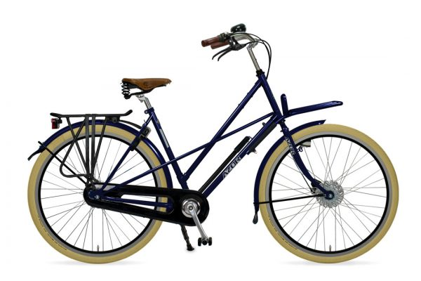 Azor Haarlem Ladies Night Blue Gloss - Amsterdam Bicycle Company