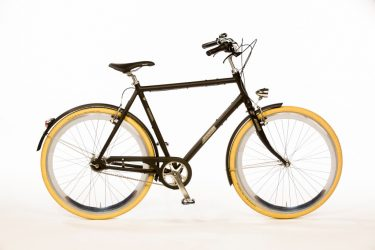 Azor IJssel Gents Matte Black - Amsterdam Bicycle Company