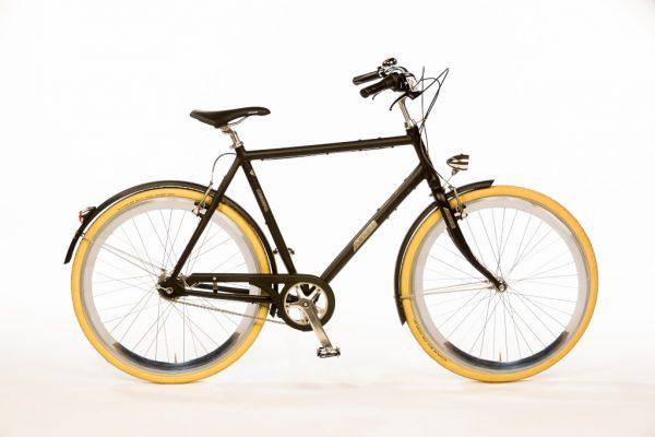 Azor IJssel Gents Matte Black - Amsterdam Bicycle Company