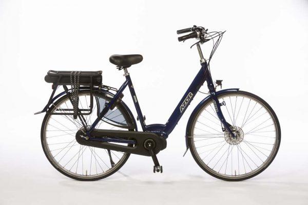 Azor Jersey E-Bike Ladies Night Blue Gloss - Basic Dutch E-Bike - Amsterdam Bicycle Company