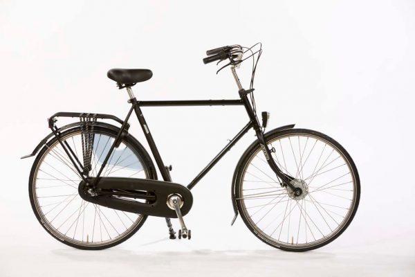 Azor Jersey Gents Black Matte - No nonsense quality Dutch bicycle - Amsterdam Bicycle Company