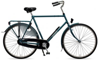 Azor Jersey Gents Charcoal Blue Gloss - Amsterdam Bicycle Company