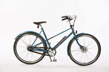 Azor Mixte Pearl Blue Metallic Gloss - 80's Dutch Retro Sportbike
