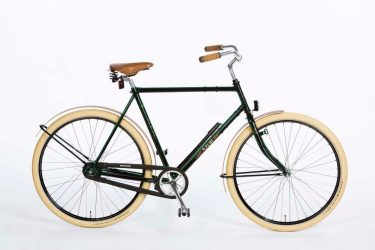 Azor Schouwen Gents High Gloss Black - Dutch Design Bicycle