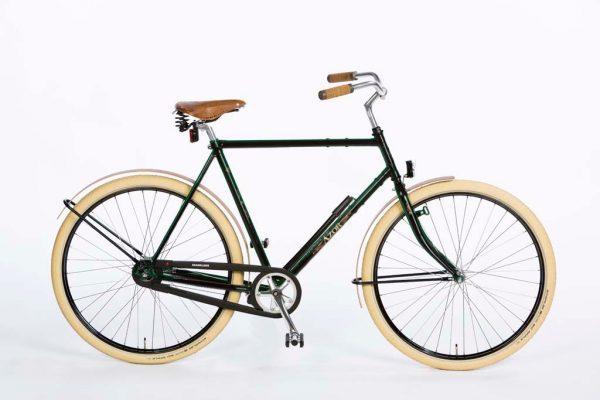 Azor Schouwen Gents High Gloss Black - Dutch Design Bicycle