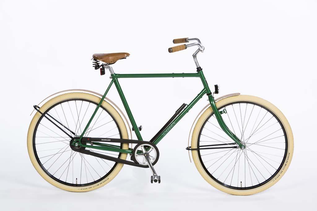Azor Schouwen Mens Classic Green Gloss