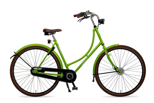 Azor Terschelling Ladies Apple Green Gloss - Amsterdam Bicycle Company