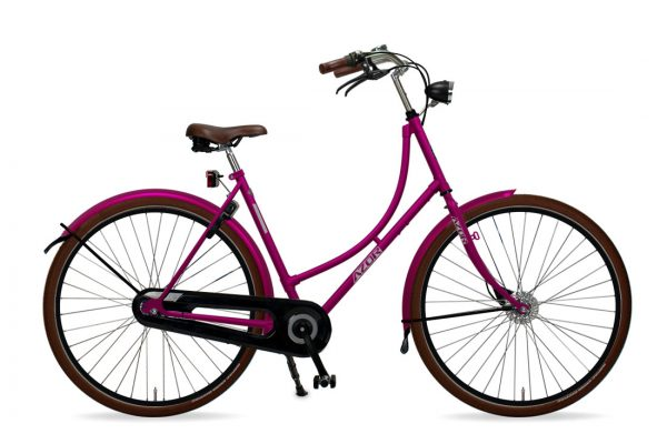 Azor Terschelling Ladies Lollipop Violet Gloss - Amsterdam Bicycle Company