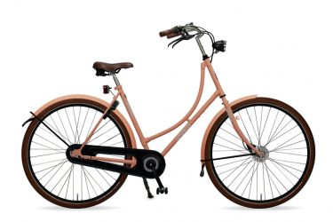 Azor Terschelling Salmon Pink Matte - Amsterdam Bicycle Company