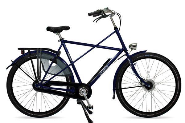 Azor Texel Gents Deep Blue Gloss 2021 - Amsterdam Bicycle Company