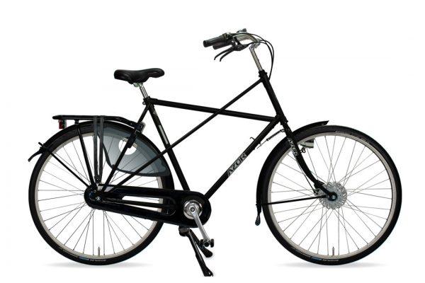 Azor Texel Gents High Gloss Black - Amsterdam Bicycle Company