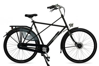 Azor Texel Gents Matte Black 2021 - Amsterdam Bicycle Company