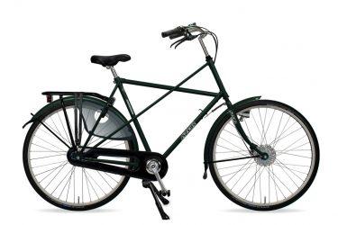 Azor Texel Gents Moss Green Metallic Gloss - Amsterdam Bicycle Company