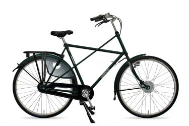 Azor Texel Gents Moss Green Metallic Gloss - Amsterdam Bicycle Company